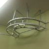 3D aluminium structures for stretch ceiling installation