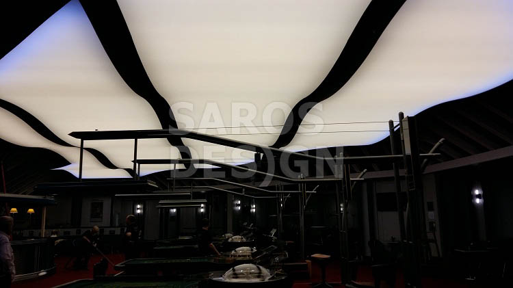 Stretch ceiling in Casino Garmisch-Partenkirchen