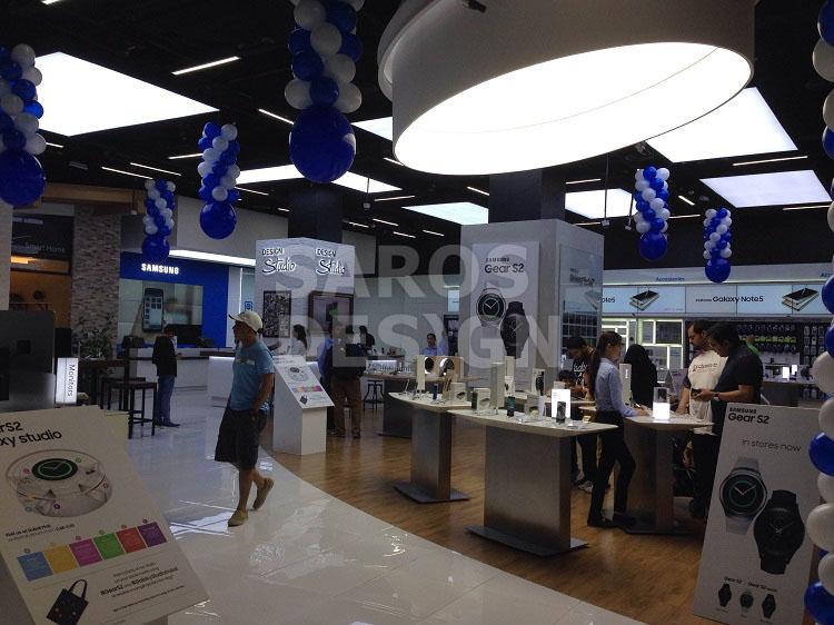 Saros Design ceilings at Dubai Mall
