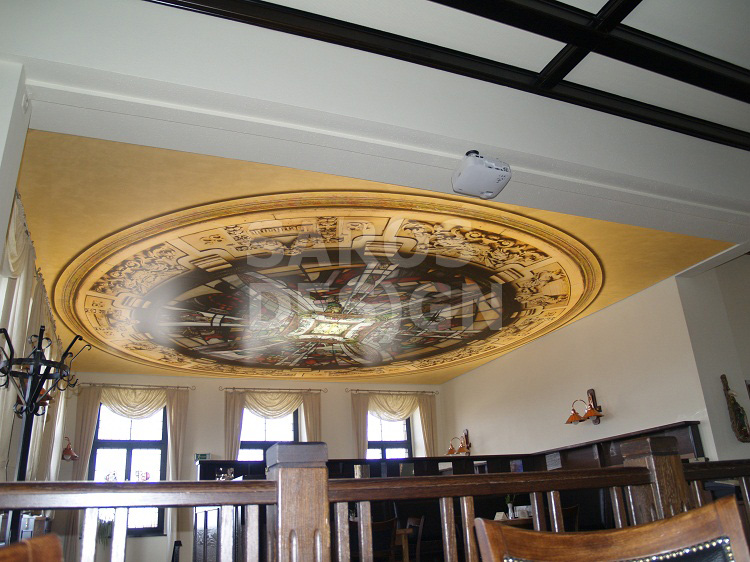 stretch-ceiling-in-felsenkeller-restaurant-image-2