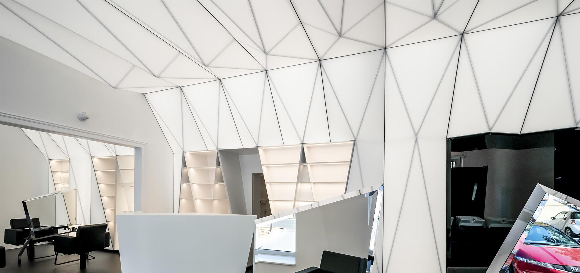 Натяжные потолки и световые решения Производство и поставка