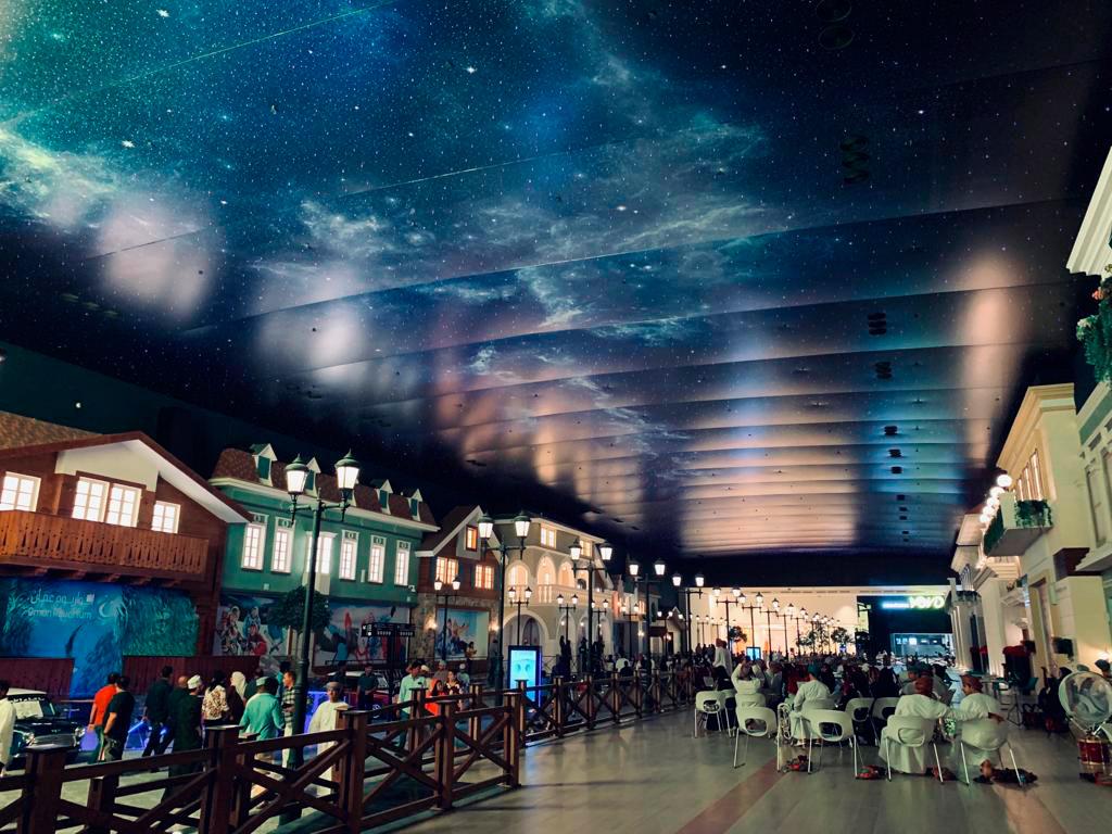art-stretch-ceiling-palm-mall-oman-image-1