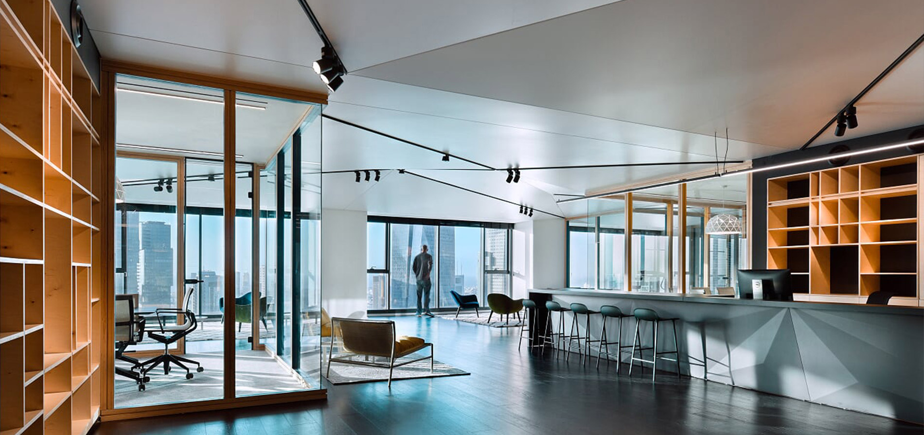 Profiles and accessories for stretch ceilings' installation
